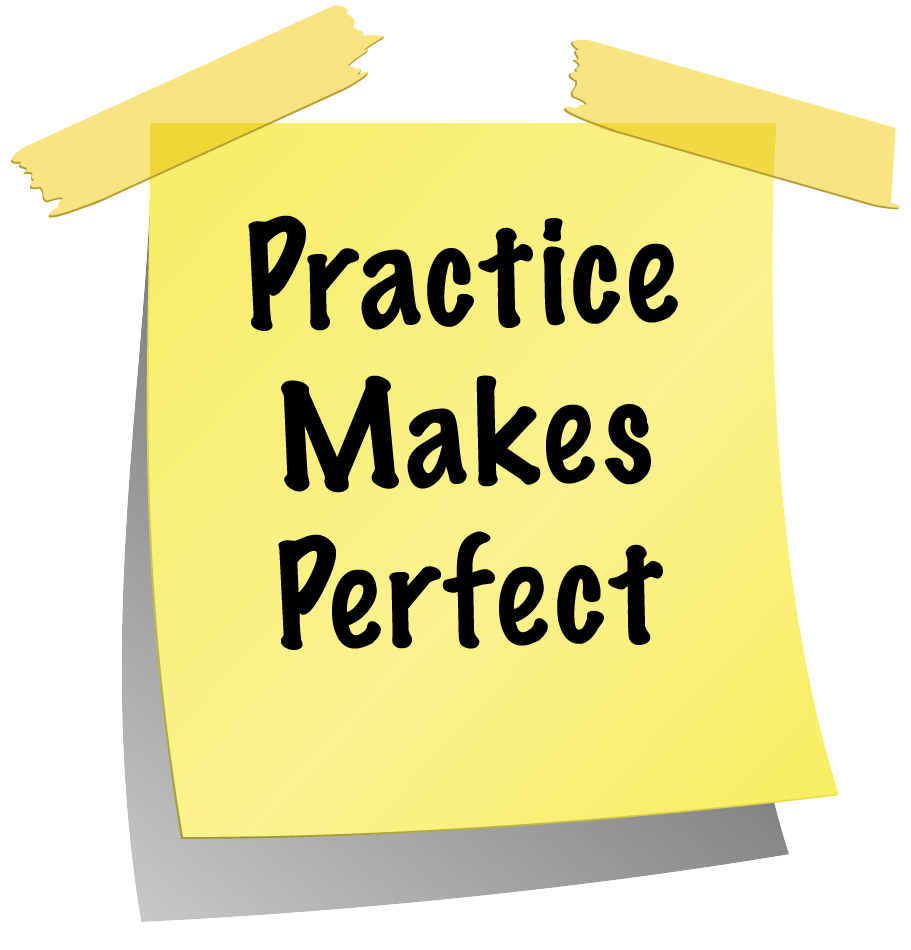 practise makes perfect essays Practice makes perfect in life  but how can this be believed until they relentlessly practise  subscribe below to receive a daily digest of all our essays.